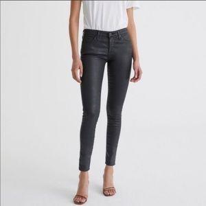 AG The Legging Ankle Super Skinny Leather Like